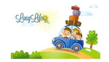logo long life car